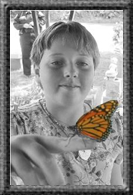 Maddie's butterfly release