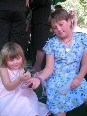 Girls love Monarch Butterflies.